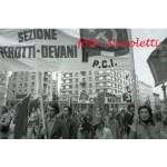 Anni '70, Milano Manifestazione P.C.I