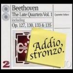 Gli ultimi quartetti per archi di Beethoven