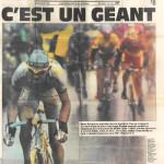 Marco Pantani a Parigi in agosto
