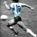 Gli undici tocchi di Maradona