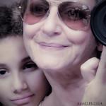 Selfie con mia madre