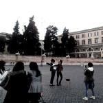 Piccole felicità a Piazza del Popolo