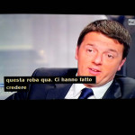 Caro Renzi, ti riscrivo