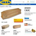 Ikea, gli specialisti delle bare