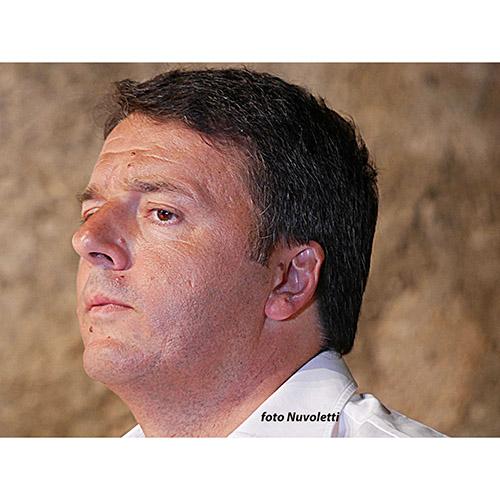 La faccia di Renzi