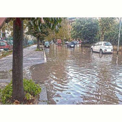 La pioggia sul Pigneto
