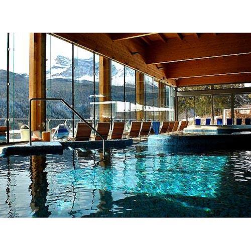 La piscina di montagna