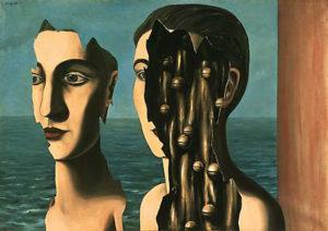 Magritte - Double secret - 1927