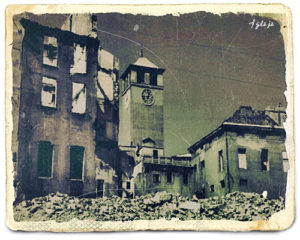 Le distruzioni dei bombardamenti