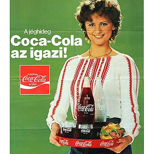 La Coca Cola arriva in Ungheria