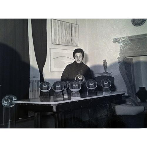 Storia di Giorgio Bonafé e delle dieci sfere di Man Ray