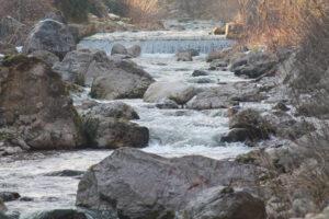 Il torrente Leogra o Giolgara