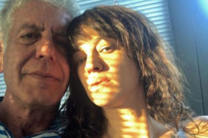 Asia Argento e Anthony Bourdain