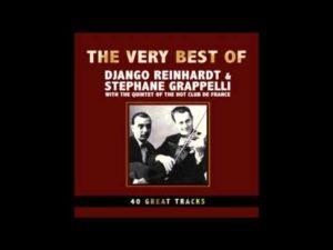 La copertina del disco con Stephane Grappelli - 1946