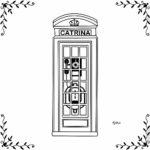 CATRINA Cabina telefonica doppio uso