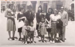 Nevenka e la sua nuova famiglia in Italia