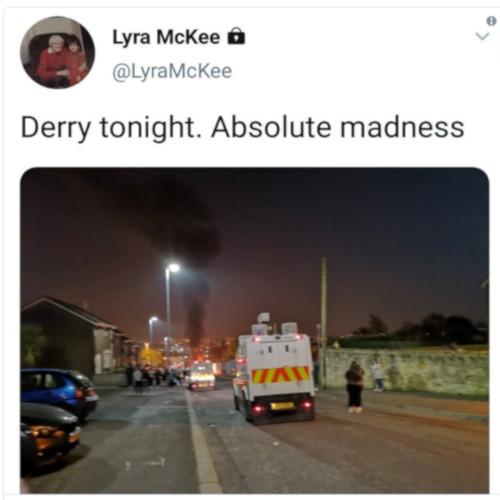 L'ultimo tweet di Lyra McKee