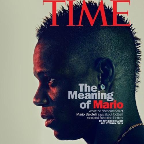 Mario Balotelli sulla Copertina del Time