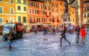 Fotografare la vitalità di Roma a Campo de Fiori
