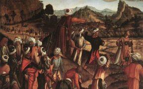 Vittore Carpacci, Lapidazione di Santo Stefano, 1520