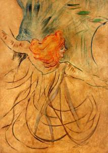 Loie Fuller vista da Toulouse Lautrec
