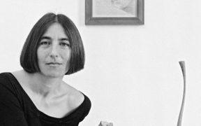 Anna Cascella in una foto di Dino Ignani
